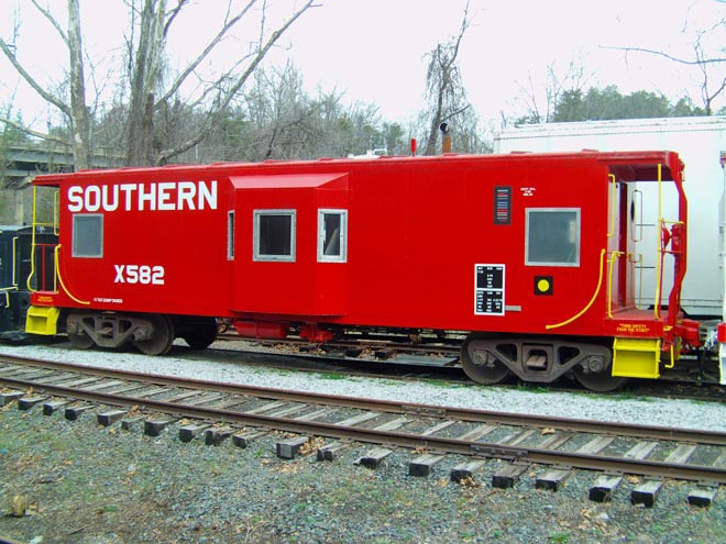 19 Southern Caboose 582 Blt 1970.jpg