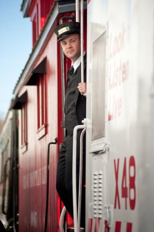Thanks to my son Kimsey for being a conductor during our photo shoot.
