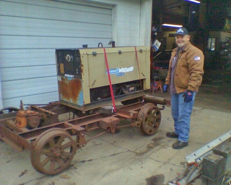 Thanks to Robby for his work on the motor car.