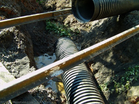 1c - Oct 2012 Replacing collapsed pipe at mp3.2