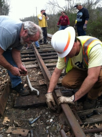 Dennis and Chris putting joint bars together-07.jpg