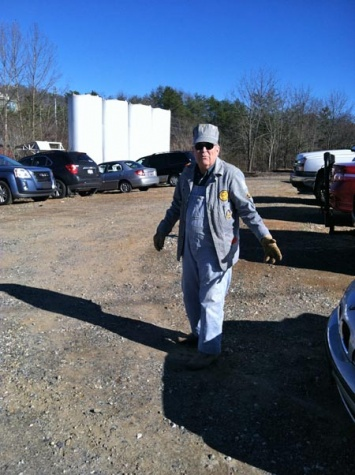 Ed did a wonderful job parking cars for the event.